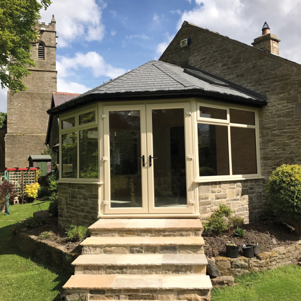 Tiled roof extension 2