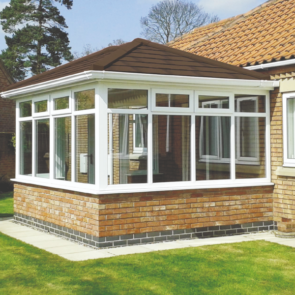 Tiled roof extension 3